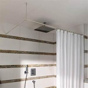 Duschstange U Form : duschvorhangstange ds e 170 70 l form edelstahl l form duschstange duschvorhangstange ~ Sanjose-hotels-ca.com Haus und Dekorationen