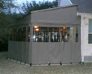 Custom Roll Up Patio Shades by Patio Curtains Aaa Awning Co Inc