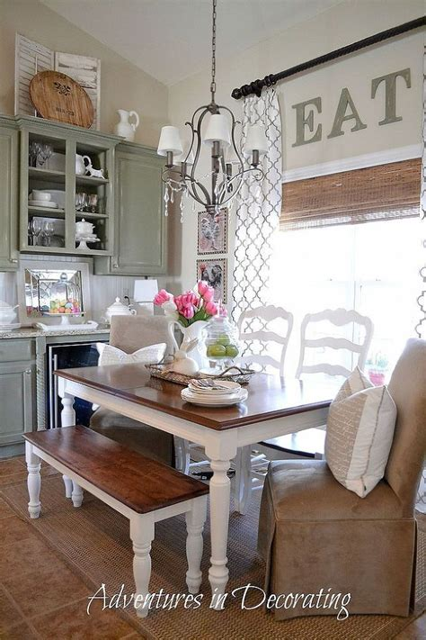 country kitchen table decorating ideas tip farmhouse table vintage ceramics gt tap into
