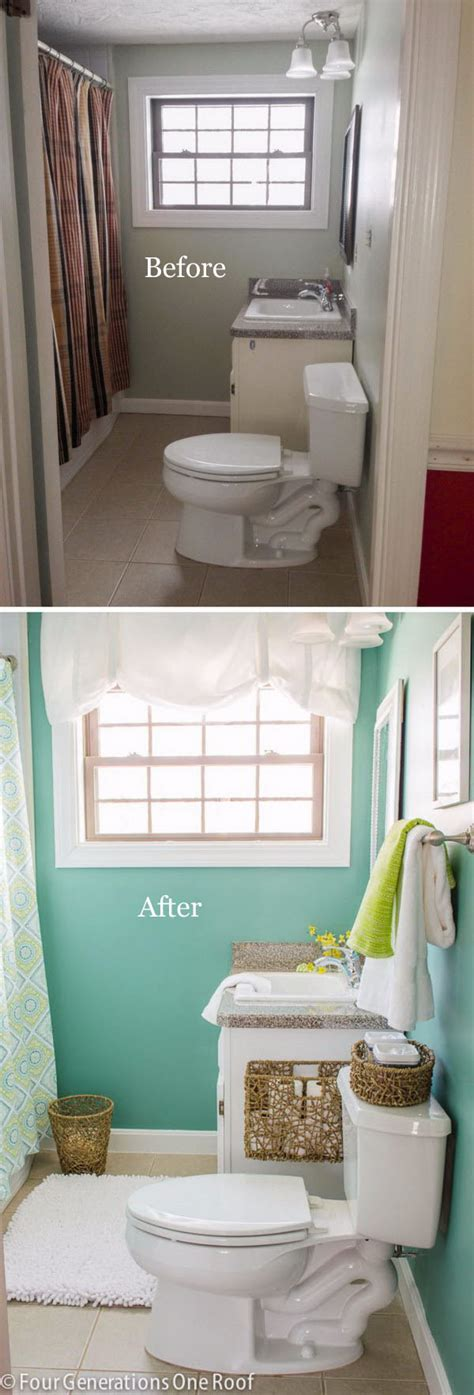 Bathroom Makeover Cost by 50 Gorgeous Bathroom Makeovers With Before And After