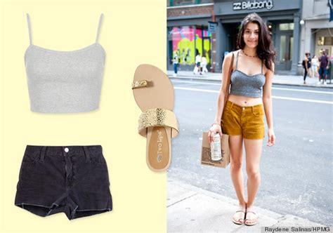 10 Summer Street Style Outfit Ideas To Look Hot And Stay Cool (PHOTOS) | HuffPost