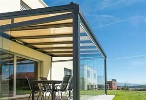 Uberdachungen und vordacher aus metall und glas dries for Markise balkon mit tapete kupfer metallic
