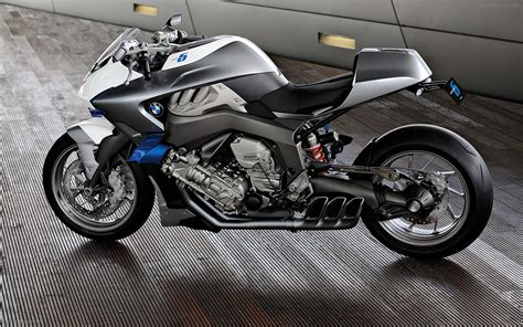 Bmw Motorrad Concept 6 Widescreen Exotic Bike Wallpaper