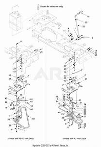 Mtd 13al608g731  2004  Parts Diagram For Pto Manual