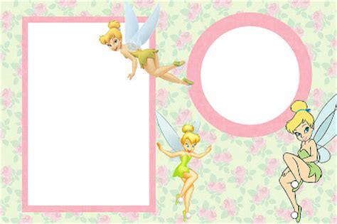 tinkerbell  printable invitations   fiesta