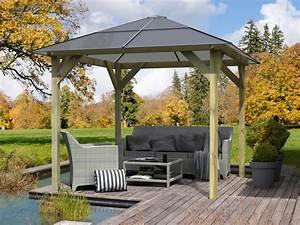 Pavillon Für Garten : pavillon cordoba premium kesseldruckimpr gniert 4 eck ~ A.2002-acura-tl-radio.info Haus und Dekorationen