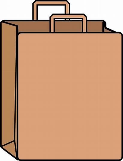 Paper Bag Clip Clipart Clker Cliparts