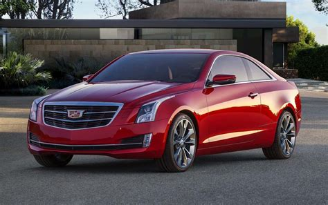 Cadillac Adds New Ats Coupe To Line-up