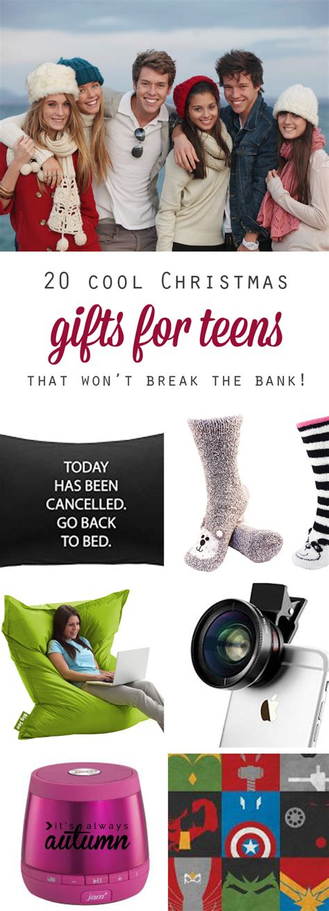 Best Christmas Gift Ideas For Teens  It's Always Autumn