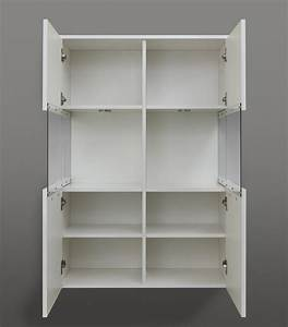 Meuble Rangement Salle De Bain : meuble de rangement design de salle de bain blanc brillant ~ Edinachiropracticcenter.com Idées de Décoration
