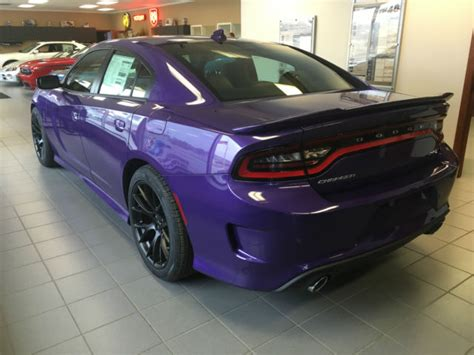 NEW 2016 Dodge Charger SRT Hellcat Plum Crazy Supercharged