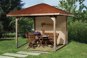 Holz Pavillon 3x3 : pavillons g nstig kaufen gartenpavillon holz weka paradies spar set ~ Whattoseeinmadrid.com Haus und Dekorationen