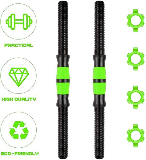 sporto fitness cm dumbbell bars dumbbell handles weightlifting accessories  gym barbells