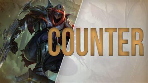 lol counter zed millenium