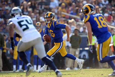 los angeles rams  seattle seahawks winloss predictions
