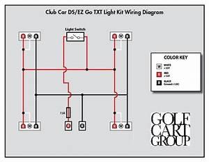 Club Car Wiring Diagram Light