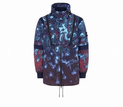 Stone Island Heat Reactive Printed Thermosensitive Jacket