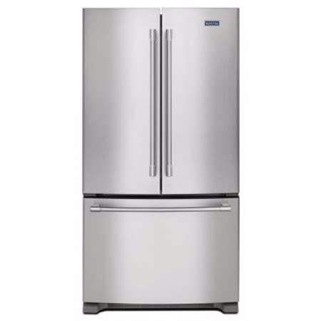 mfcfez maytag   cu ft counter depth french door refrigerator