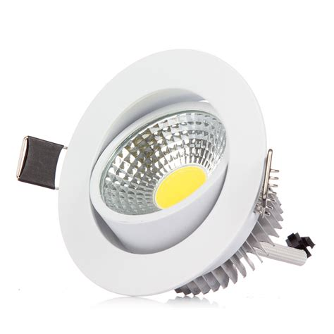 1pcs bright dimmmable cob led ceiling light 3w 6w