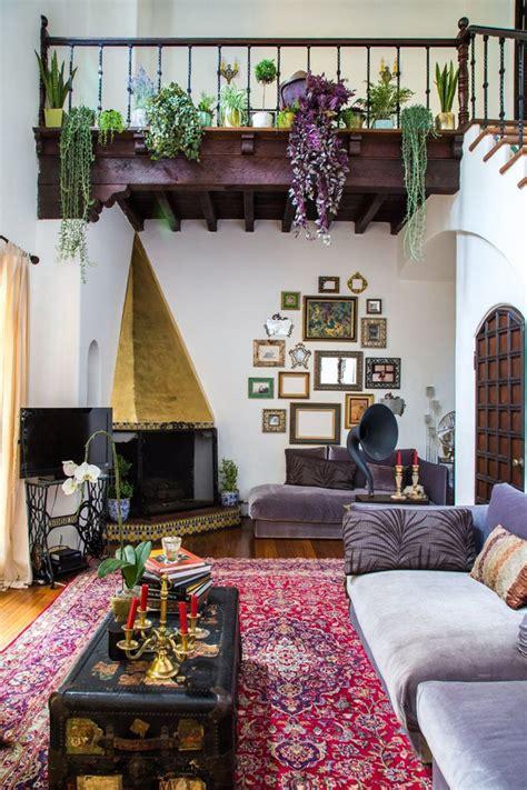 bohemian interior design trend  ideas boho chic home