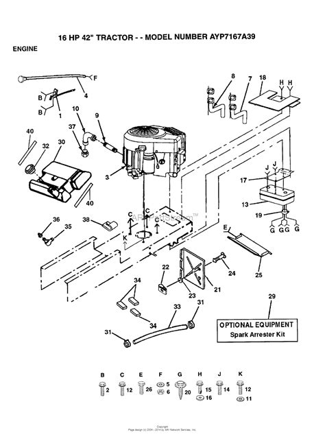 Ayp Electrolux Aypa Parts Diagram For Engine