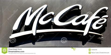 fast cuisine big mac mcdonald 39 s cafe logo editorial stock photo image 19432448