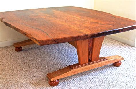 edge coffee table  mesquite cherry louis fry