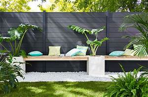 Idee Cloture Jardin : cl ture de jardin comment la customiser ~ Melissatoandfro.com Idées de Décoration
