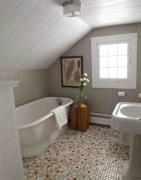 attic bathrooms small attic bathrooms with slanted rooves attic bathroom pinterest