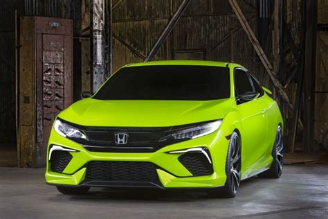 10th Generation Honda Civic Concept Rocks Compact Sports