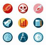 Icon Study Chemistry Icons Scientific Chemical Testing
