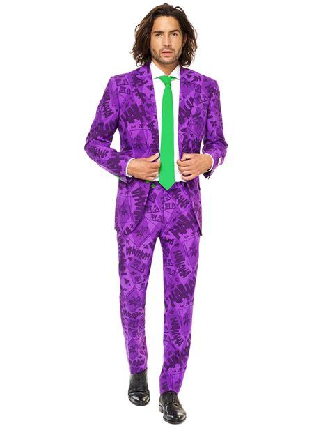 joker kostüm herren opposuits the joker anzug f 252 r herren kost 252 me f 252 r erwachsene und g 252 nstige faschingskost 252 me vegaoo