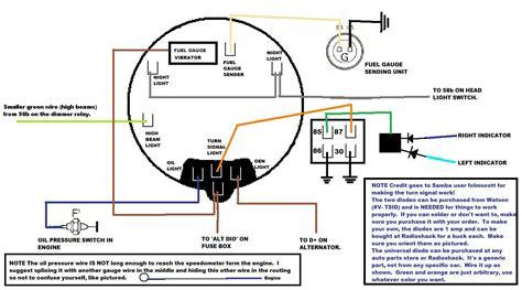 75 vw beetle fuel gauge wiring diagram wiring diagram