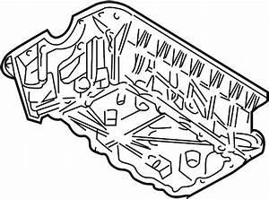 Ford Explorer Sport Trac Engine Oil Pan