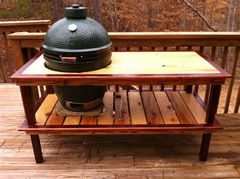 plans for large green egg table wood work table plans for xl big green egg pdf plans