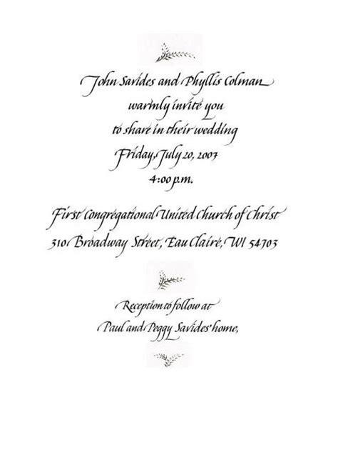 Wedding Invitations Samples