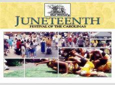 2015 Juneteenth Festival of the Carolinas – June 18th
