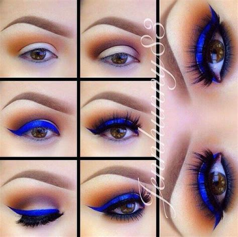 trucos de maquillaje  los ojos marrones