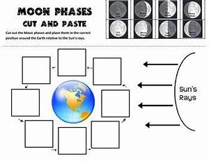 Moon Phases Cut and Paste Practice by Scienceisfun | TpT