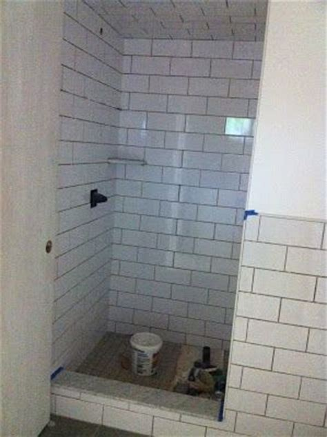 subway tile showers shower stalls and tile showers on
