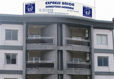express siege social cameroun effort de guerre contre boko haram 60 millions