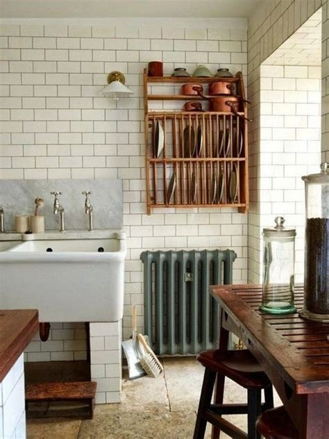 antique plate rack design ideas   vintage kitchen  art  life