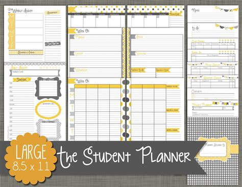 planners for college students the polka dot posie our new student planners are here