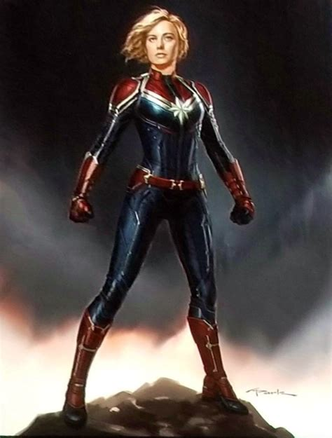 Bild  Captain Marvel Konzeptzeichnungjpg Marvelfilme
