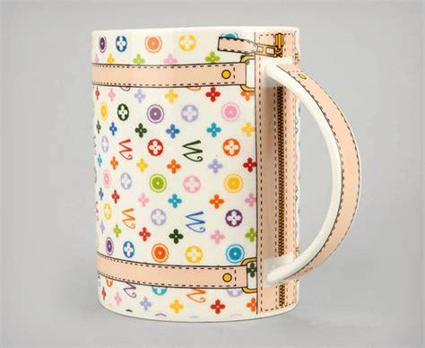 coffee mug handbags monogram bag mug