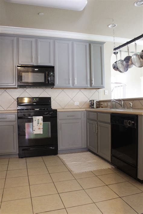grey kitchen cabinets with black appliances grey cabinets black appliances kitchen gusto grace 8358