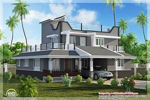 Contemporary Style 3 Bedroom Home Plan Kerala Home Design