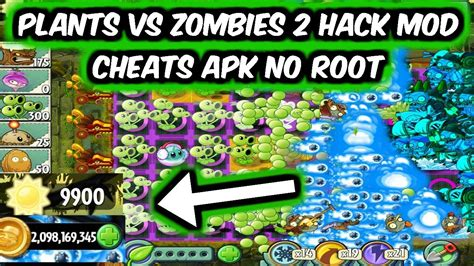 plants  zombies  hack mod  apk android  root