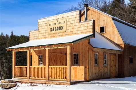 western saloons designed built  barn yard great country