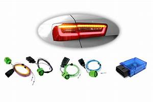 Wiring Harness   Coding Dongle Led Rear Lights For Audi A6